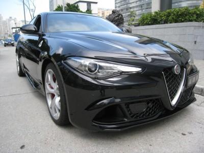 GIULIA,愛快 Alfa Romeo,2017,BLACK 黑色,4