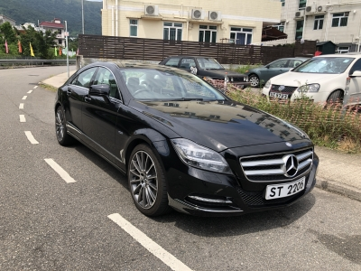 Mercedes-Benz CLS350 Blue Efficiency