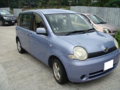 SIENTA,豐田 Toyota,2004,BLUE 藍色,7