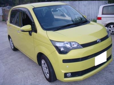 SPADE,豐田 Toyota,2013,YELLOW 黃色,5