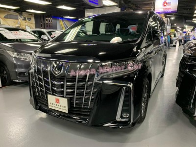 ALPHARD 3.5 EXECUTIVE LOUNGE S,豐田 Toyota,2020,BLACK 黑色,7,C168937