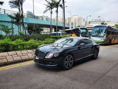CONTINENTAL GT W12,賓利 Bentley,2011,BLACK 黑色,4,