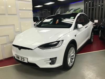 MODEL X 90D,特斯拉 Tesla,2017,WHITE 白色,,