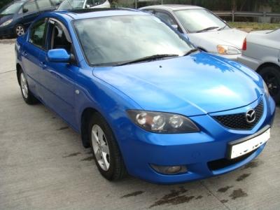 MAZDA 3,萬事得 Mazda,2006,BLUE 藍色,5