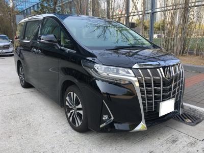 ALPHARD FACELIFT,豐田 Toyota,2018,BLACK 黑色,7