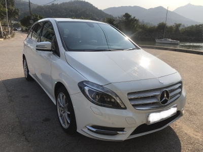 Mercedes-Benz B200 blue Efficiency