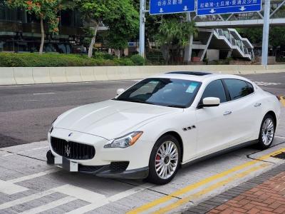 QUATTROPORTE,瑪莎拉蒂 Maserati,2015,WHITE 白色,5