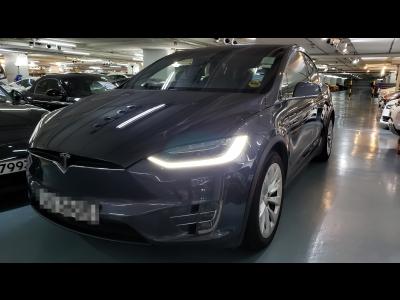 model x 90d,特斯拉 Tesla,2017,GREY 灰色,7