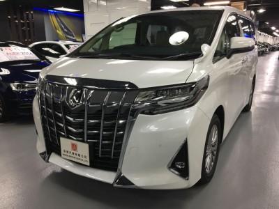 ALPHARD 3.5 GF,豐田 Toyota,2020,WHITE 白色,7,C020 / C170441