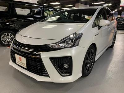 PRIUS V ALPHA GS,豐田 Toyota,2015,WHITE 白色,5,C109 / C174315