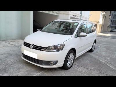 TOURAN 1.4 TSI,福士 Volkswagen,2014,WHITE 白色,7,