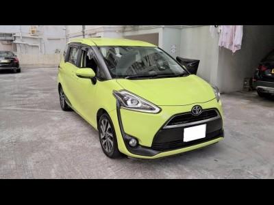 SIENTA,豐田 Toyota,2021,YELLOW 黃色,7,