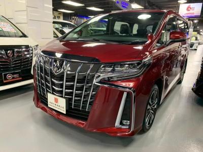 ALPHARD FACELIFT 3.5 SC,豐田 Toyota,2019,RED 紅色,7,c124/c176404
