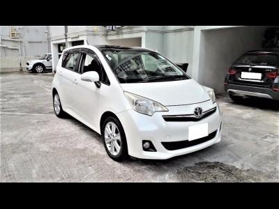 RACTIS Verso,豐田 Toyota,2012,WHITE 白色,5,