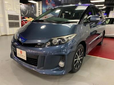 ESTIMA AERAS HYBRID,豐田 Toyota,2012,BLUE 藍色,7,c177695 / c006