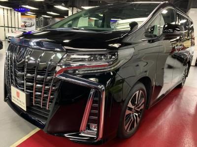 ALPHARD FACELIFT 2.5 SC,豐田 Toyota,2021,BLACK 黑色,7,(c063/c178089 )