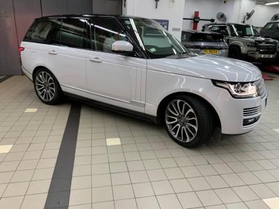 Range Rover AUTOBIOGRAPHY,越野路華 Land Rover,2015,WHITE 白色,5,